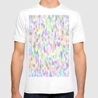 Pastell Pattern Mens Fitted Tee White SMALL
