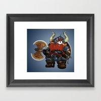 Dwarf Framed Art Print