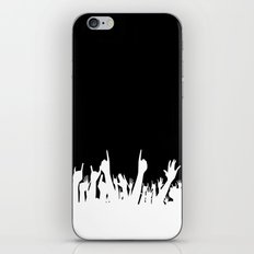 Audience Poster Background iPhone & iPod Skin