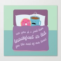 Let's Have Breakfast Canvas Print