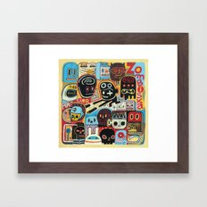 ZOMBISKA Framed Art Print