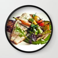 Branzino Filet, Chorizo … Wall Clock