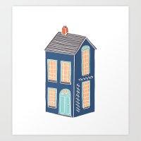 Little Townhouse Art Print