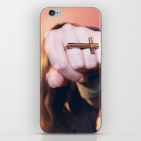cross ring iPhone & iPod Skin