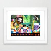 Udaey Framed Art Print