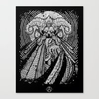 One From Beneath  Canvas Print