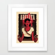Adelita Framed Art Print