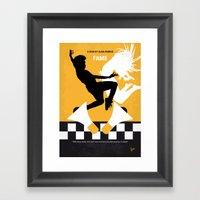 No619 My Fame Minimal Mo… Framed Art Print
