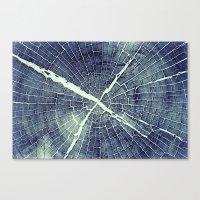 Abstract Bark Canvas Print