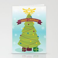 A Triforce Christmas Stationery Cards