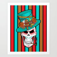 Day of the Dead Voodoo Lord Art Print