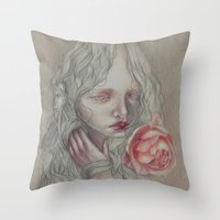 Old Paradise Throw Pillow