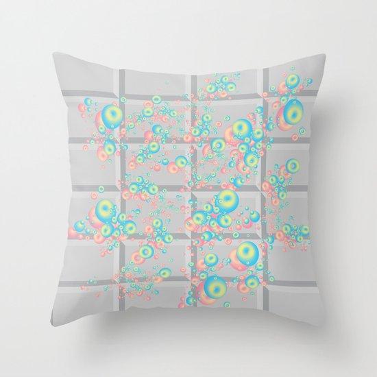 PushButton v.2 Throw Pillow