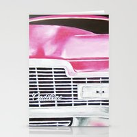 Pink Cadillac - Cotton C… Stationery Cards