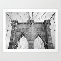 To Manhattan, With Love Art Print