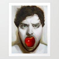 The Caterpillar/Adam's Apple Art Print