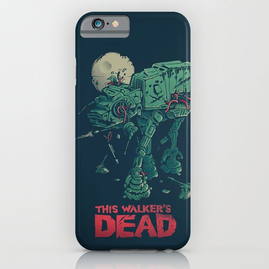 Walker's Dead iPhone & iPod Case
