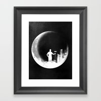 Lunar Theory Framed Art Print