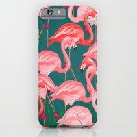 flamingo tropical  iPhone 6 Slim Case
