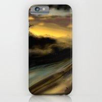 iPhone & iPod Case featuring Deserted by awkwardyeti