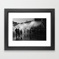 Launch Command Framed Art Print