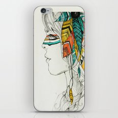Native Woman iPhone & iPod Skin