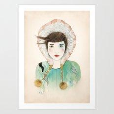 Groenlandia. Art Print