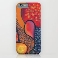 Dance in Orange iPhone 6 Slim Case