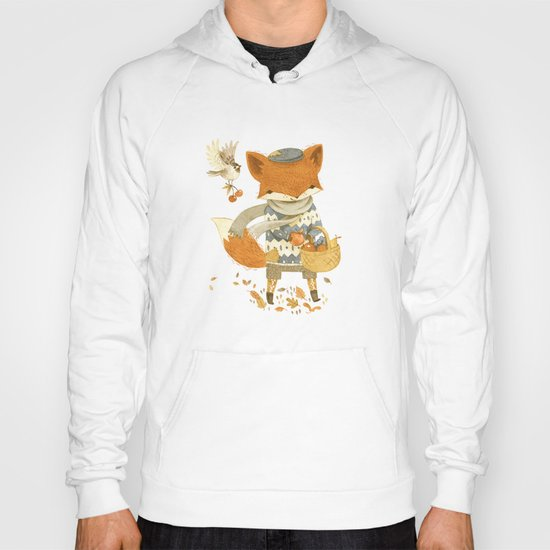 Fritz the Fruit-Foraging Fox Hoody