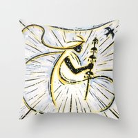 Orixás - Oxala Throw Pillow