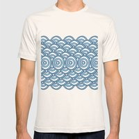 Waves Mens Fitted Tee Natural SMALL