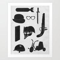 2011: A Kubrick Odyssey Art Print