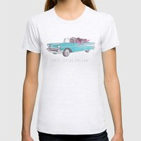 The See Us Rollin' Womens Fitted Tee Ash Grey SMALL