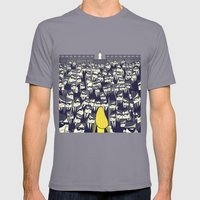 Crazy 88 Mens Fitted Tee Slate SMALL
