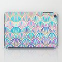 Glamorous Twenties Art Deco Pastel Pattern iPad Case