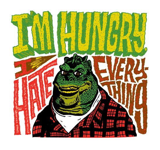 Hungry Earl Canvas Print