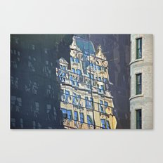 Building with Ghosts Canvas Print