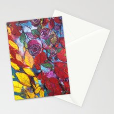 Roses garden Stationery Cards