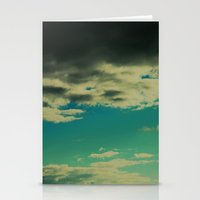 Cloudy day Stationery Cards