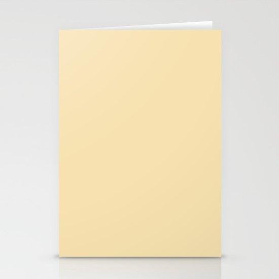 Vanilla Stationery Card