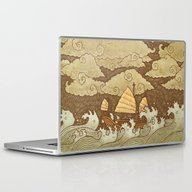 Laptop & iPad Skin featuring Tempest  by Terry Fan