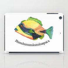 H is for Humuhumunukunukuapua'a iPad Case