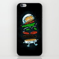 The Astronaut Burger iPhone & iPod Skin
