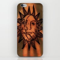 Sun Hand. iPhone & iPod Skin