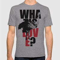 WIL? Ostrich Mens Fitted Tee Athletic Grey SMALL