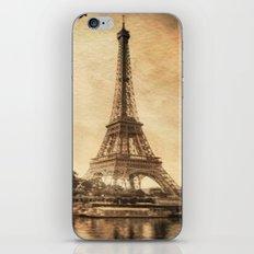 Vintage Eiffel Tower 2 iPhone & iPod Skin
