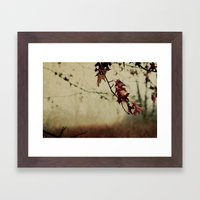Knowing When To Let Go Framed Art Print