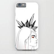 Fashion Illustration, Bl… iPhone 6 Slim Case