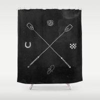 Derby X Shower Curtain