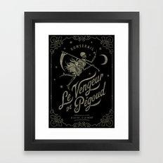 Le Vengeur De Pégoud (b… Framed Art Print